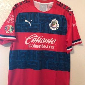 Jersey De Las Chivas 2019